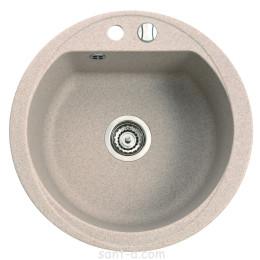 Врезная кухонная мойка Marmorin DURO 1k одна чаша, круглая (130 803 0xx)