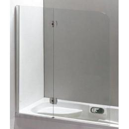 Распашная шторка для ванны Eger 120x150см 599-120CH/L (код 043016)
