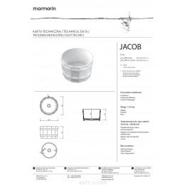 Умывальник Marmorin Jacob (485 039 020 xxx)