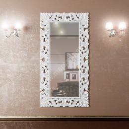 Зеркало для ванной комнаты Marsan PENELOPE 1120x870мм в цвете (Марсан 1-Пенелопа) белое/черное