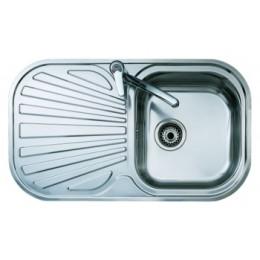 Кухонная мойка Teka из нержавеющей стали, микротекстура, врезная, 83х48,5см STYLO 1B 1D 10107043 Тека