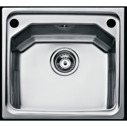 Кухонная мойка Teka из нержавеющей стали, полированная, врезная, 46,5х44см EXPRESSION 1B 12126021 Тека
