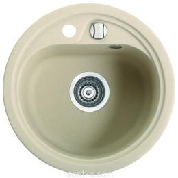 Врезная кухонная мойка Marmorin VASK круглая (260 803 0xx)