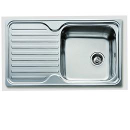 Кухонная мойка Teka из нержавеющей стали, полированная, врезная, 86x50см Classic 1B 1D 10119056 Тека
