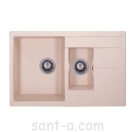 Гранітна кухонна мийка GRANADO LEON avena 1002