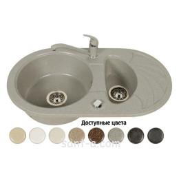 Врізна мийка кухонна Brenor (SOLANO 15)