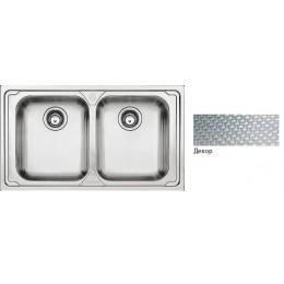 Двойная раковина для кухни Franke Logica LLX 620-79 101.0381.839