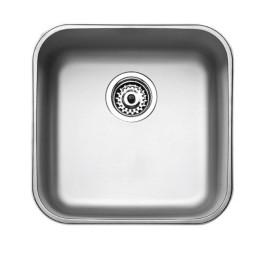 Кухонная мойка Teka из нержавеющей стали, полированная, врезная, 43,3х43,3см BE 40.40 (18) 10125005 Тека