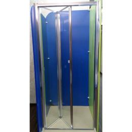 Душевая дверь Atlantis ZDM-110-2 профиль хром/стекло прозрачное, левостороняя 110х190см