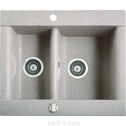Врезная кухонная мойка Marmorin VOGA 1,5k полторы чаши (110 503 0xx)