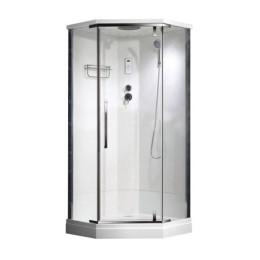 П'ятикутний душовою бокс Veronis BN-090PG 90х90х216см