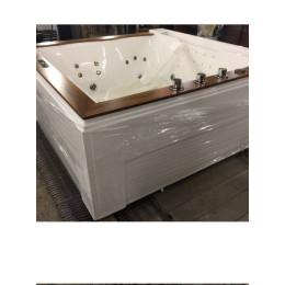 Гідромасажна ванна Golston G-U2608, 1800x1800x770 мм вбудована