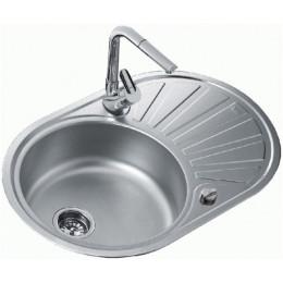 Кухонная мойка Teka из нержавеющей стали, микротекстура, врезная, 77x 50см DR 77 1B 1D 40127303 Тека