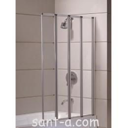 Шторка на ванну Eger 89х140см 599-110 (код 043331)