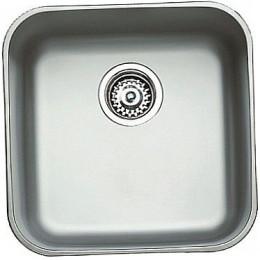Кухонная мойка Teka из нержавеющей стали, полированная, монтаж под столешницу, 43,3х43,3см BE 40.40 (25) 10125021 Тека