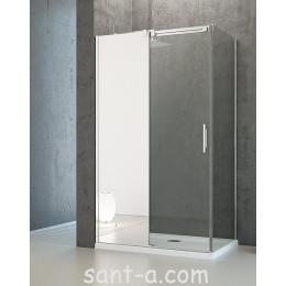 Душевая кабинка с зеркалом на неподвижной части Radaway Espera KDJ 100х80см 380495-01L+380148-01L