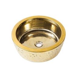 Умывальник чаша на столешницу золото Newarc 42 (5065G)