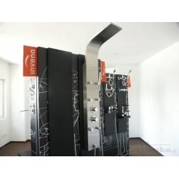 Гидромассажная панель для душа Invena Mauritus AK-60-001