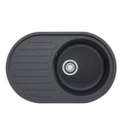 Кухонна мийка з каменю Franke Ronda ROG 611 114.0254.785, колір графіт