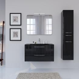 Зеркало со светильником для ванной комнаты Marsan ADELE, 90х70х2,5см (Марсан 17-Адель)