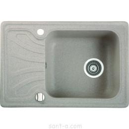 Врезная кухонная мойка Marmorin DATO одна чаша,одно крыло (240 113 0xx)