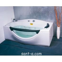 Ванна без гідромасажу Appollo 1800х990х680 мм, з віконцем ТЅ-932 (код 033937)